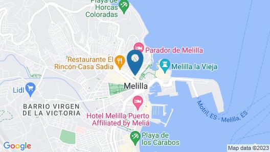 Hotel Anfora Map