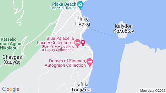 Blue Palace Elounda, a Luxury Collection Resort & Spa, Crete Map