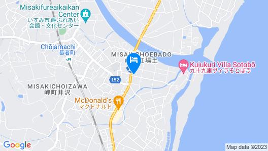 Hotel R9 The Yard Isumi Map