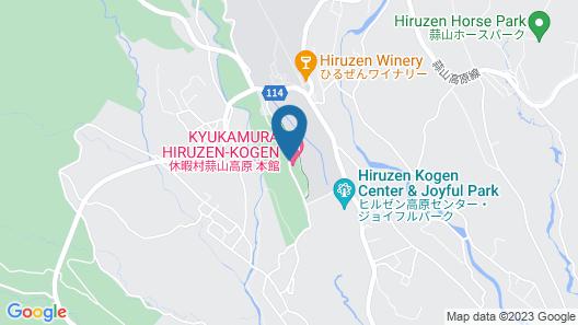 Kyukamura Hiruzen-Kogen Map