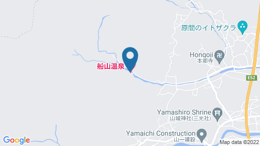 Funayama Onsen Map