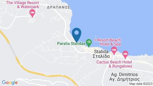 Blue Sea Beach Hotel Map