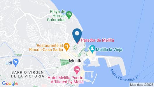 Parador De Melilla Map