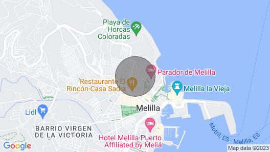 Archimedes Tourist Apartments 2-4 Map