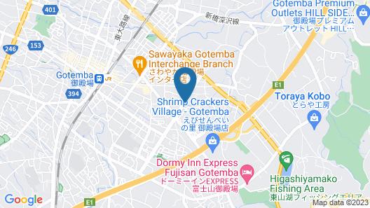 Hotel KAN-RAKU Fujisan Gotemba Map