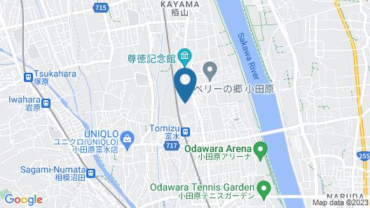 Martians Hotel Tomizu Map