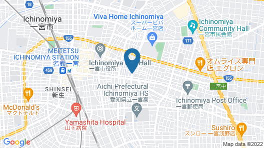 ICHINOMIYA CITY HOTEL Map