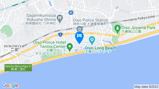 Oiso Prince Hotel Map