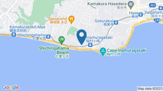 Casablanca Pool House Map