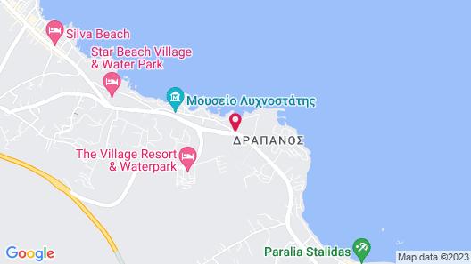 Abaton Island Resort & Spa Map