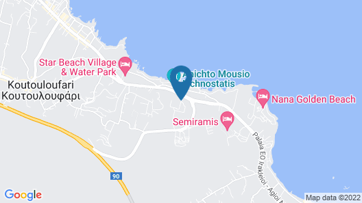 Mediterraneo Hotel Map