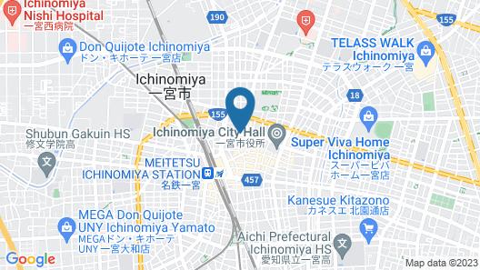 Ichimiya Green Hotel Map