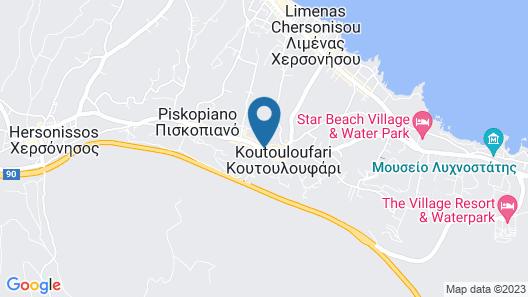 Esperides Resort Crete, The Authentic Experience Map