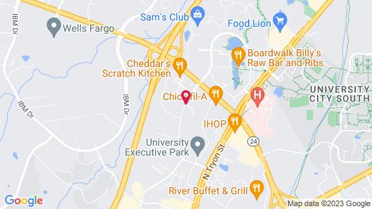 Home2 Suites by Hilton Charlotte University Research Park Map