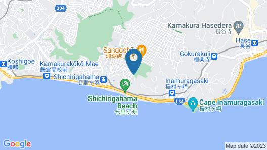 Kamakura Prince Hotel Map