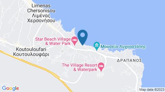 Anatoli Apartments Map