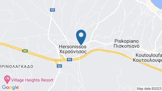 Villaggio Hotel Hersonissos Map