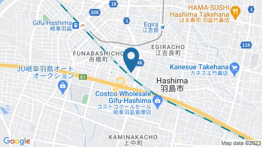 Hotel Sulata Gifu Hashima Adult Only Map