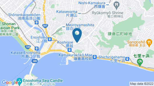 Shonan Enoshima Seaside Guest House ANNEX Map