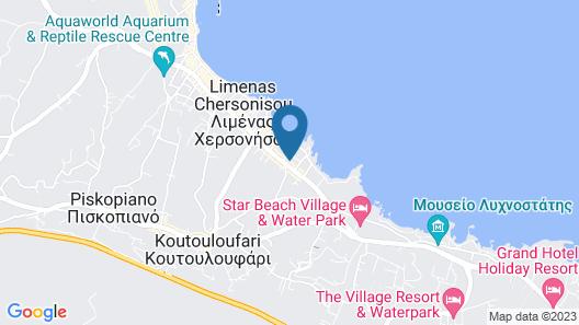 Silva Beach Hotel Map