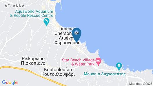 Akasha Beach Hotel & Spa Map