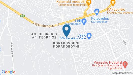 SunCity Apartments Map