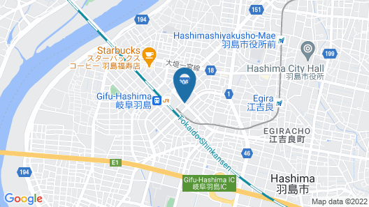 Guest House Gifuhashima COCONE - Hostel Map
