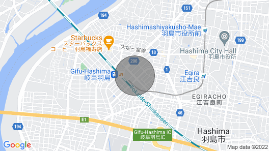 35 min to Kyoto 1 LDK 3 min Walk From JR Gifhashima Station 303 Map