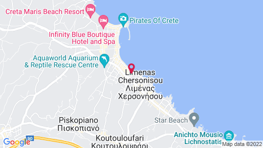 Greta Apartments Map
