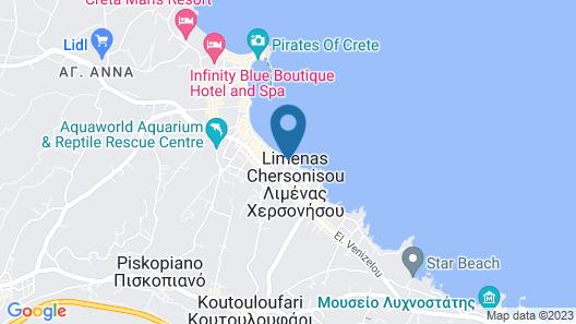 Palmera Beach - Adults Only Map