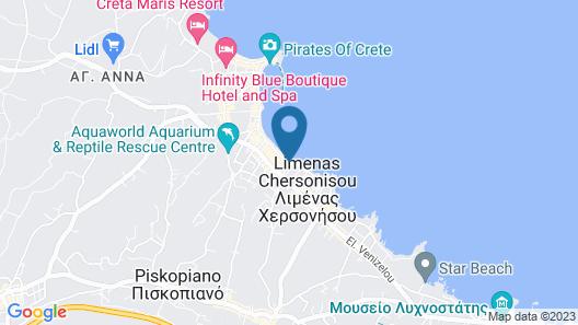 Kahlua Hotel & Suites Map