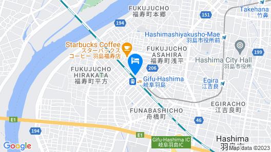 Apa Hotel Gifu-Hashima-Ekimae Map