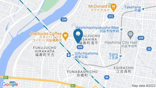 Hotel LC Gifu-Hashima Map