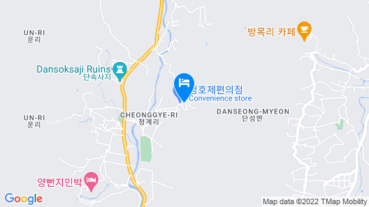 Sancheong Jirisan Noeul Pension Map
