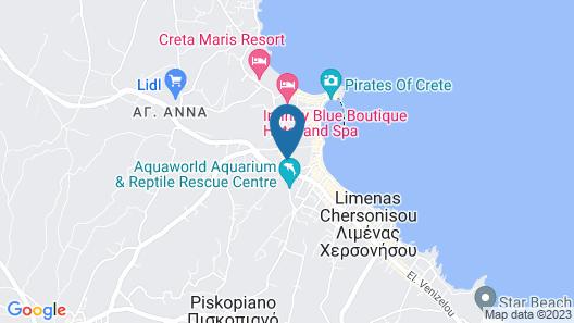 CHC Apartment Hotel Map
