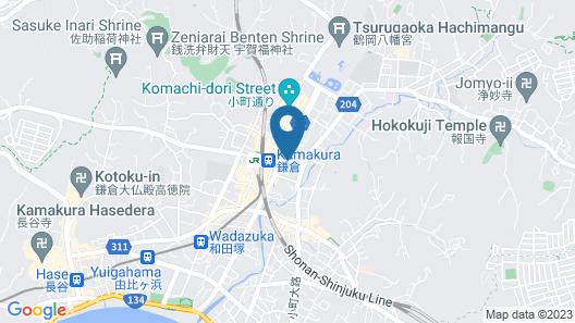 Hotel Metropolitan Kamakura Map