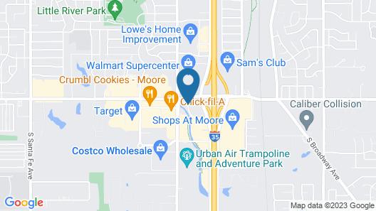 La Quinta Inn & Suites by Wyndham Oklahoma City - Moore Map