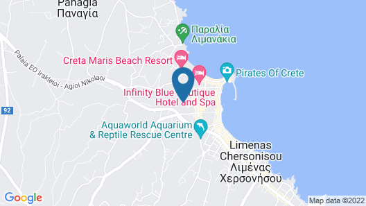 Simple Hotel Hersonissos Sun Map