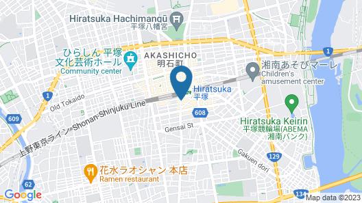 GRAND HOTEL KANACHU HIRATSUKA Map
