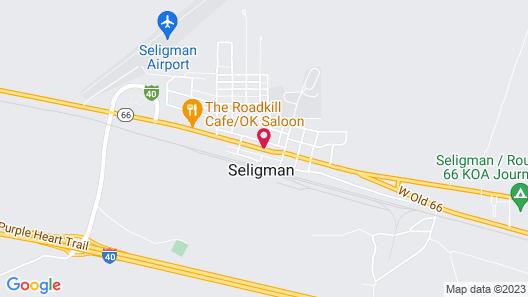 Supai Motel Map