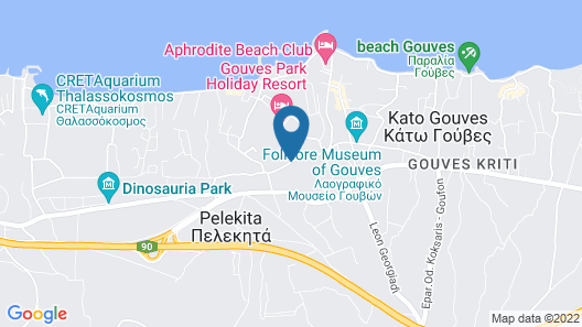 Lavris Hotels & Spa Map
