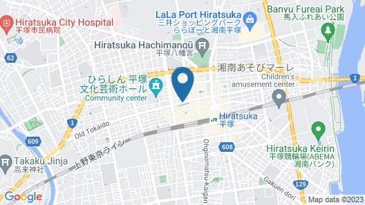 The Hours Shonan Hiratsuka Map