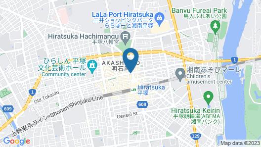 Toyoko Inn Shonan Hiratsuka-eki Kita-guchi No.2 Map