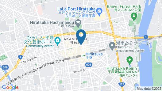 Toyoko Inn Shonan Hiratsuka-eki Kita-guchi No.1 Map