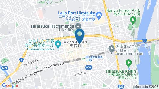 HOTEL LiVEMAX Hiratsuka-Ekimae Map