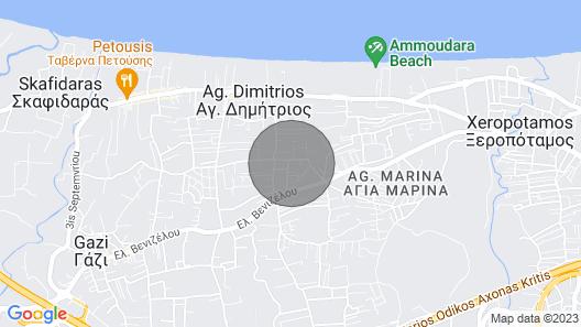 Cozy Apartment Ammoudara Heraklion Creta-1 Map