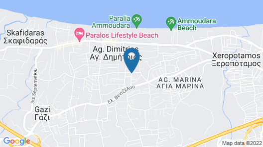 Vitorakis Apartments Map