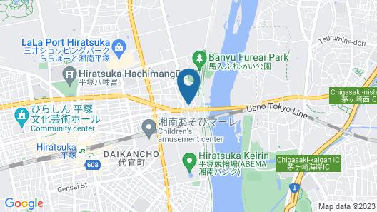 Hotel Sunlife Garden Map