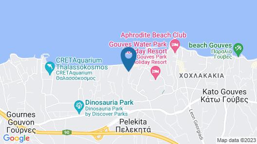 Kallia Beach Map