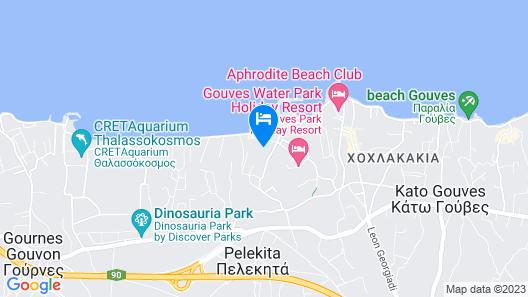 Evdokia apartments Map